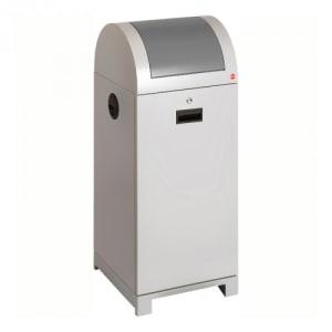 Wertstoffbehälter PROFILINE mit Handbedienung, Hailo - Inhalt 40 / 70 Liter