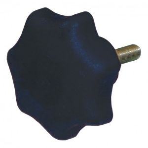 Sterngriffschraube für Gelenk-Teleskopleiter mit integrierten Holmverlängerungen