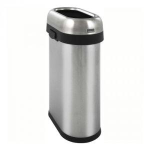 Schmaler Abfallbehälter SLIM OPEN BIN, Simplehuman - Inhalt 50 Liter