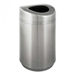 Geräumiger Abfallbehälter mit offenem Oberteil - Inhalt 120 Liter