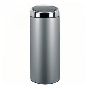 Runder Abfallbehälter TOUCH mit Touchdeckel, Brabantia - Inhalt 30 / 45 Liter