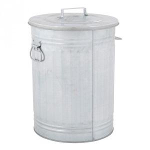 Mülltonne TRASH CAN mit Handgriffen und separatem Deckel - Inhalt 54 Liter