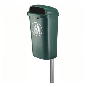 Wand-Abfallbehälter, feuerfest - Inhalt 50 Liter