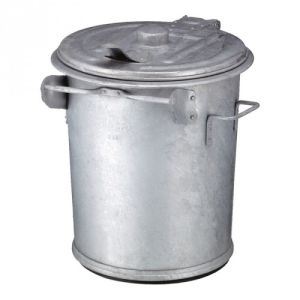 Mülltonne mit Deckel, feuerfest - Inhalt 70 / 90 / 110 Liter