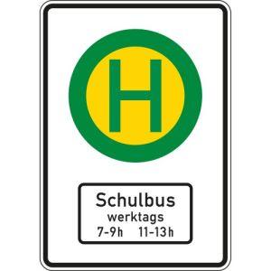 Schulbus-Haltestelle - Schild VZ 224-51