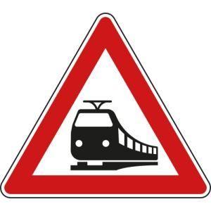 VZ 151 - Verkehrsschild Bahnübergang