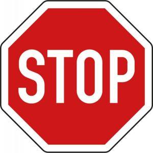Stoppschild | VZ 206 STOP Schild