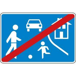 VZ 325.2 Verkehrsschild Verkehrsberuhigter Bereich Ende
