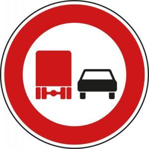 VZ 277 - Schild Überholverbot für Kraftfahrzeuge über 3,5t