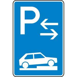 Verkehrszeichen 315-78 Parken auf Gehwegen Schild (Mitte)