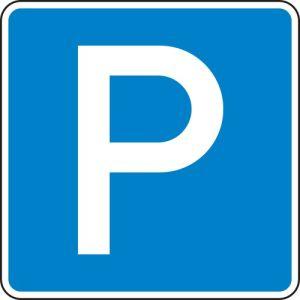 VZ 314 - Parkplatzschild Parken zur Parkplatzkennzeichnung