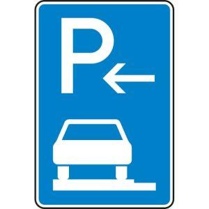 VZ 315-62 Parken ganz auf Gehwegen Schild (Ende)