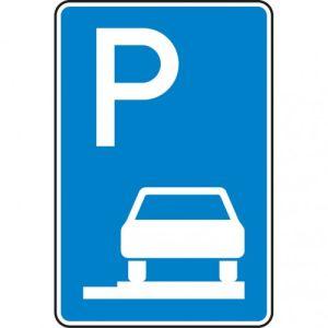 VZ 315-65  Parken auf Gehwegen Schild