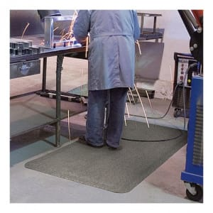 Antirutschmatte / Arbeitsplatzmatte YOGA SPARK für Schweißarbeitsplätze