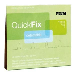 Nachfüllpack für QuickFix Pflasterspender - Detektable Pflaster