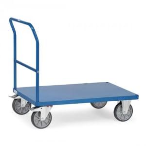 Schiebebügelwagen mit Blechplattform - Tragkraft 500 / 600 kg