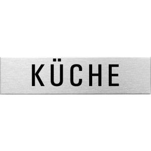 Textschild - Küche (eckig)