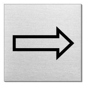 Piktogramm - Richtungspfeil (quadratisch)