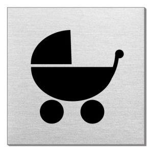 Piktogramm - Kinderwagen (quadratisch)