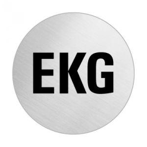 Textschild - EKG (rund)