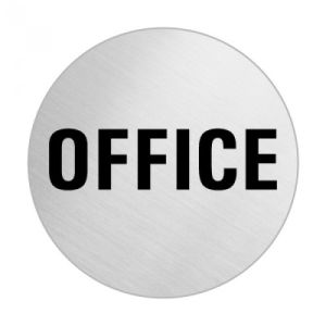 Textschild - Office (rund)
