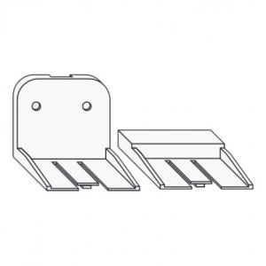 Ersatzbefestigungsset für Fluchttürhaube Typ K