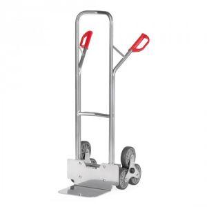 Alu-Treppenkarre mit kleiner Schaufel und Treppensternen - Tragkraft 200 kg