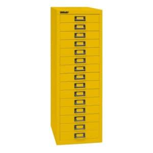 Schubladenschrank Bisley MultiDrawer - 39er Serie DIN A4, 15 Schubladen