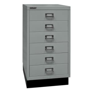 Schubladenschrank Bisley MultiDrawer - 29er Serie DIN A3, 6 Schubladen