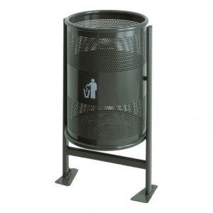 Rund-Abfallbehälter RANGER - Inhalt 60 / 80 Liter