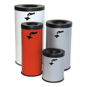 Abfallbehälter / Funktionseimer FIRE EX mit Bodenring, selbstlöschend - Inhalt 15 / 25 / 40 / 75 Liter