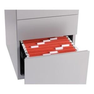 Rollcontainer Bisley NOTE - 1 Universalschublade, 1 HR-Schublade