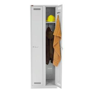 Garderobenschrank Bisley light - 2 Abteile