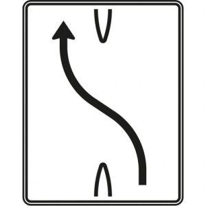 VZ 501-10  Überleitungstafel