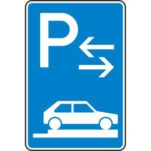 Verkehrszeichen 315-88 Parken auf Gehwegen Schild (Mitte)