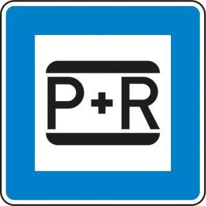 Verkehrszeichen 316 - Parken und Reisen Schild
