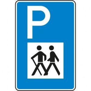 Verkehrszeichen 317 - Verkehrsschild Wandererparkplatz
