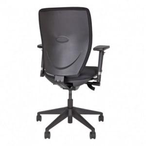 Bürodrehstuhl Bisley OPTIME mit Polsterbezug, Kunststofffußkreuz