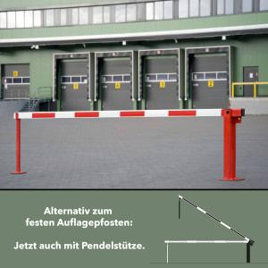 Systemschranke COMPACT mit Gasdruckfeder