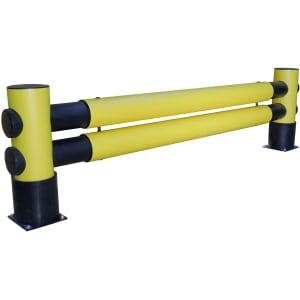 d-flexx Flexibler Regalendschutz Set Golf - zweireihig