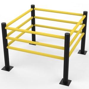 d-flexx Flexibler Säulenschutz Set Delta