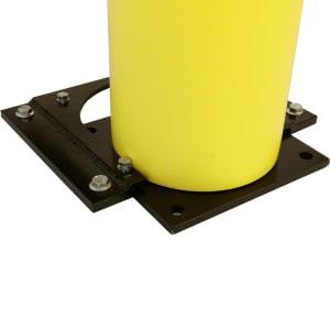 d-flexx Mobile Montageplatte für Pfosten