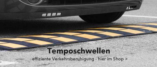 Temposchwellen zur Geschwindigkeitsbegrenzung und zur Verkehrssicherung