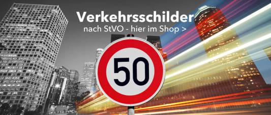 Verkehrsschilder nach StVO