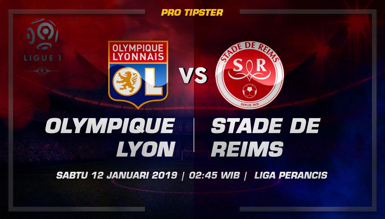 Prediksi Taruhan Bola Lyon VS Reims 12 Januari 2019