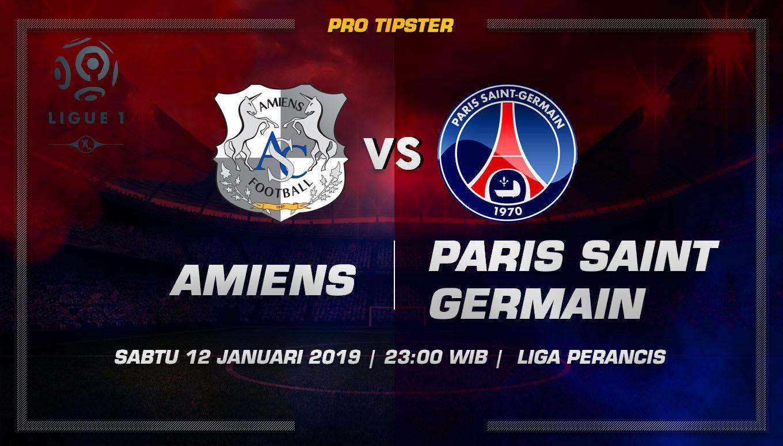 Prediksi Taruhan Bola Amiens VS Paris Saint Germain 12 Januari 2019