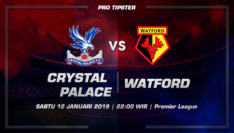 Prediksi Taruhan Bola Crystal Palace vs Watford 12 Januari 2019