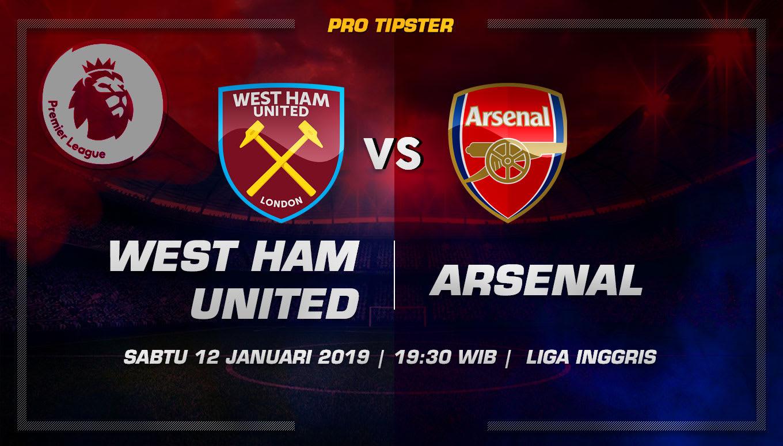 Prediksi Taruhan Bola West Ham VS Arsenal 12 Januari 2019