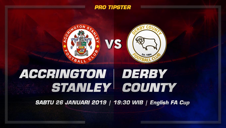 Prediksi Taruhan Bola Accrington Stanley  Vs Derby County 26 Januari 2019