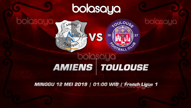 Prediksi Taruhan Bola Amiens Vs Toulouse 12 Mei 2019